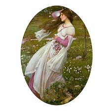Windswept Ornament (Oval)
