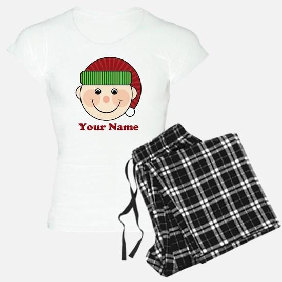 Personalized Christmas Elf Pajamas