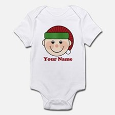 Personalized Christmas Elf Infant Bodysuit