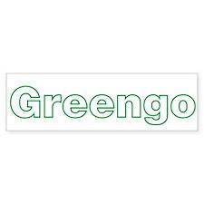Greengo Gringo Green Funny Bumper Bumper Sticker