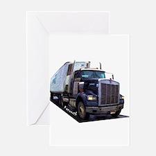 Truckin! Greeting Card