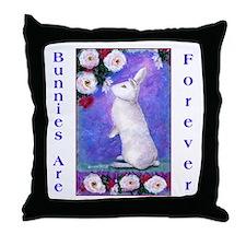 Pip Rabbit Throw Pillow