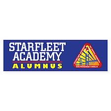 Starfleet Academy Alumni (bumper) Bumper Bumper Sticker
