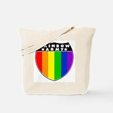 Rainbow Army Tote Bag