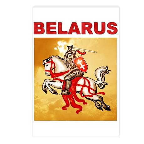 Belarus Pahonia Postcards (Package of 8)