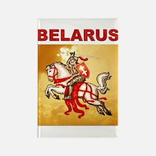 Belarus Pahonia Rectangle Magnet