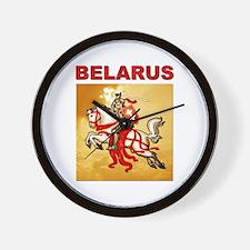 Belarus Pahonia Wall Clock