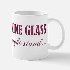 DISCREET WINE GLASS... Mug