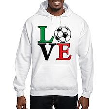 Soccer LOVE Hoodie Sweatshirt