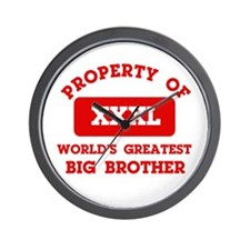 Property of Big Brother Wall Clock