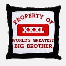 Property of Big Brother Throw Pillow