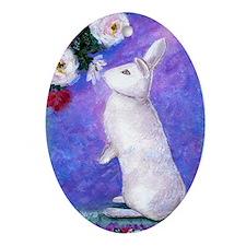 Pip Rabbit Oval Ornament