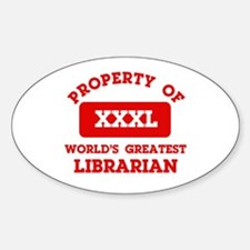 Property of Librarian Decal
