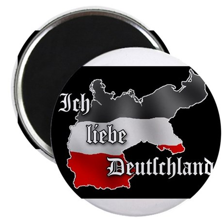 ich liebe deutschland magnet by patriot apparel. Black Bedroom Furniture Sets. Home Design Ideas