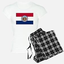 Missouri State Flag Pajamas