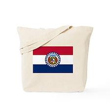 Missouri State Flag Tote Bag