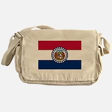 Missouri State Flag Messenger Bag