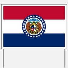 Missouri State Flag Yard Sign