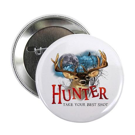 """Hunter take your best shot De 2.25"""" Button (100 pa"""