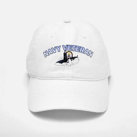 Navy Veteran SSN-22 Baseball Baseball Cap