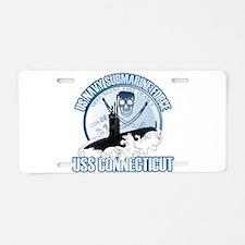 Jolly Roger [SSN 22] Aluminum License Plate