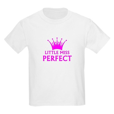 little miss perfect t shirt by pageantstarsusagiftshop