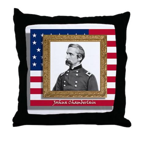 Joshua Chamberlain Throw Pillow