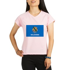 Oklahoma State Flag Performance Dry T-Shirt