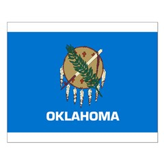 Oklahoma State Flag Posters