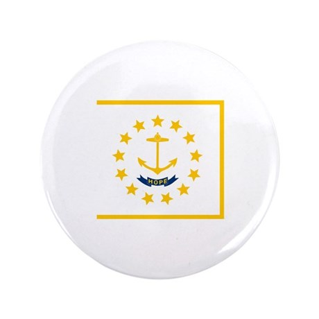 "Rhode Island State Flag 3.5"" Button"
