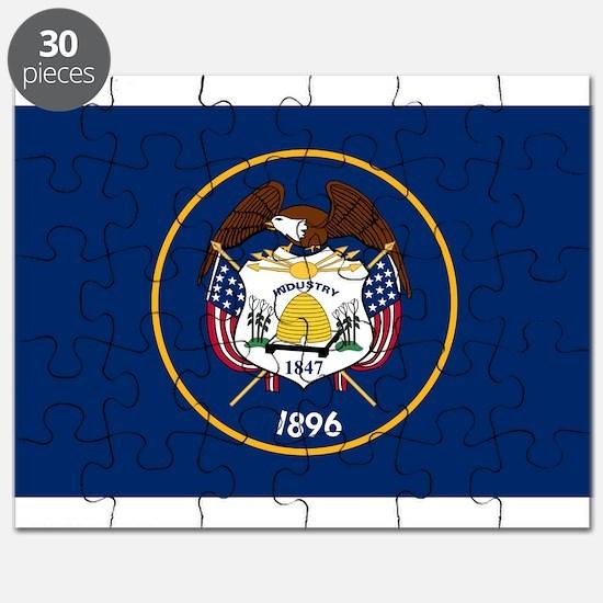 Utah State Flag Puzzle