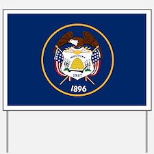 Utah State Flag Yard Sign