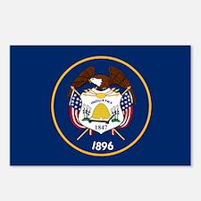 Utah State Flag Postcards (Package of 8)