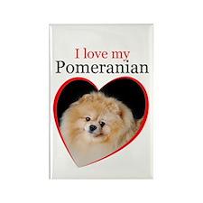 Pom Love Rectangle Magnet