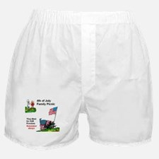 July 4Th Military Boxer Shorts