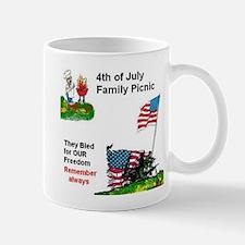 July 4Th Military Mug