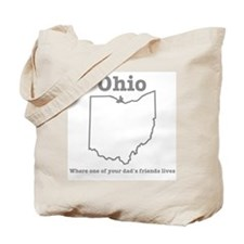 Ohio: Where one of your dad's friends lives Tote B