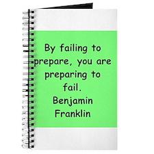 ben franklin quotes Journal