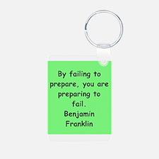 ben franklin quotes Keychains