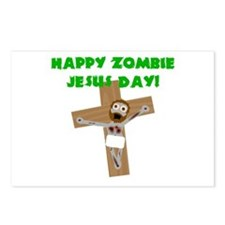 Happy Zombie Jesus Day Postcards (Package of 8)
