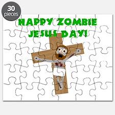 Happy Zombie Jesus Day Puzzle