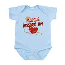 Marcus Lassoed My Heart Infant Bodysuit