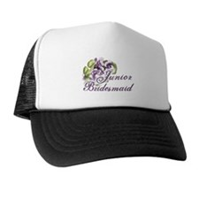 Floral Junior Bridesmaid Trucker Hat