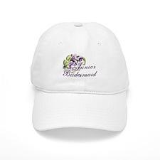 Floral Junior Bridesmaid Baseball Cap