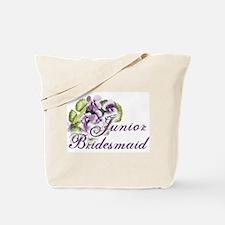 Floral Junior Bridesmaid Tote Bag