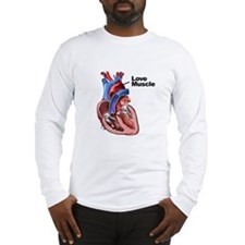 Love Muscle Long Sleeve T-Shirt