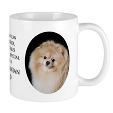 Pomeranian Dad Small Mug