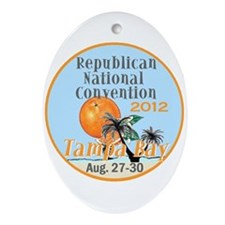 Republican Convention Ornament (Oval)