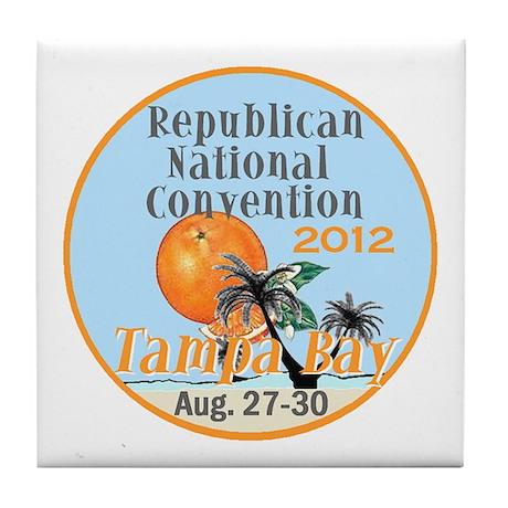 Republican Convention Tile Coaster