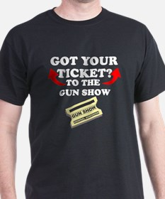 Welcome to the Gun Show Black T-Shirt